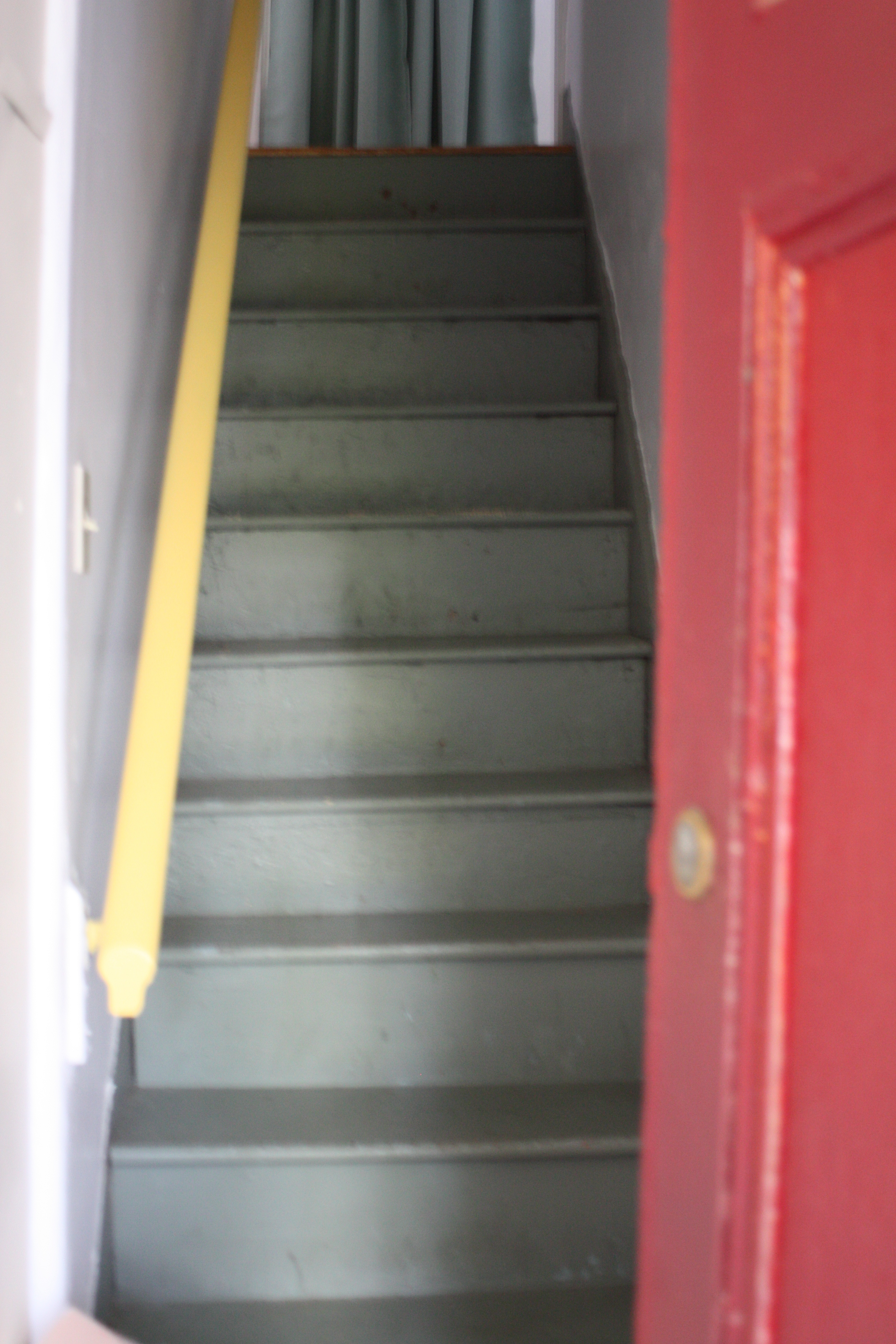 Painted Stairs A Painted Staircase